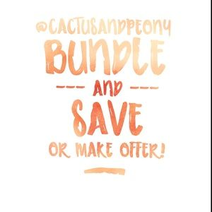 Other - Bundle and save or make me an offer! 🙂❤️